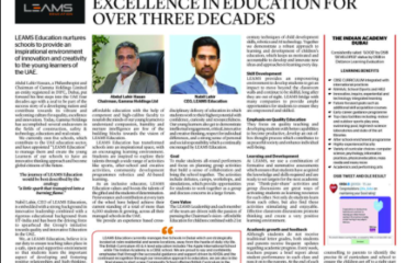 Excellence in education for over three decades
